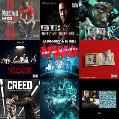 Meek Mill: A-Z Playlist - Created by Pandora Hip Hop/Rap